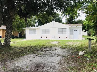 Fort Pierce Single Family Home For Sale: 1603 Boston Avenue