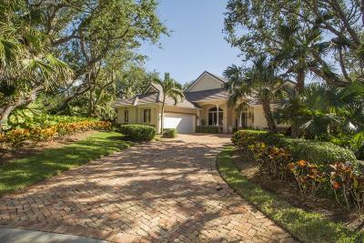 Indian River Shores Single Family Home For Sale: 11 S White Jewel Court