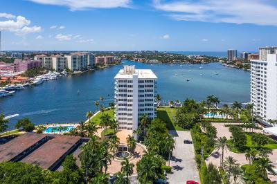 Boca Inlet, Boca Inlet Condo Condo For Sale: 701 E Camino Real #8c