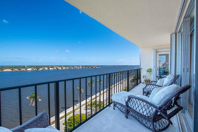 West Palm Beach Condo For Sale: 1801 S Flagler Drive #1103