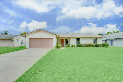 Royal Palm Beach Single Family Home Contingent: 145 Heron Parkway