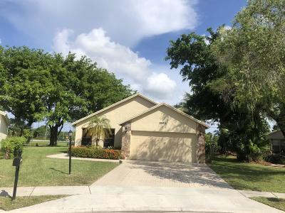 Boca Raton Single Family Home For Sale: 9050 Chatsworth Cascades