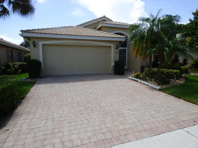 Delray Beach Single Family Home For Sale: 13846 Via Nadina
