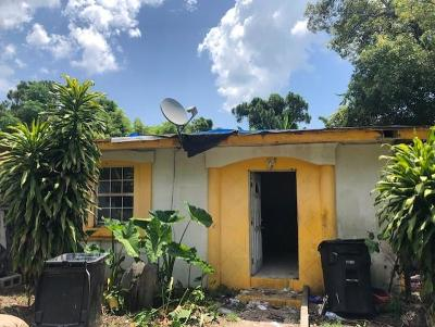 Fort Pierce Single Family Home For Auction: 3402 Avenue F