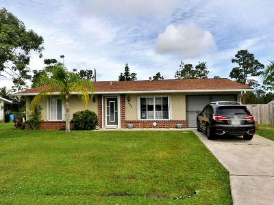 Port Saint Lucie Single Family Home For Sale: 489 SE Galleon Lane