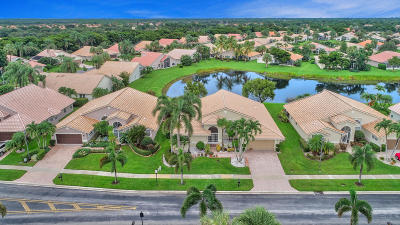 Boynton Beach Single Family Home For Sale: 12324 Lakeridge Falls Drive