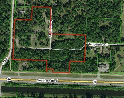 Palm Beach County Residential Lots & Land For Sale: 00000 Southern Boulevard S