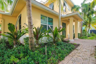Palm Beach Gardens Townhouse For Sale: 4032 Kingston Lane