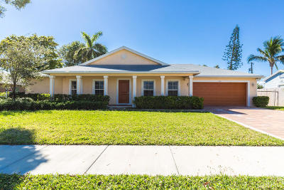 Delray Beach Single Family Home For Sale: 106 Wilson Avenue