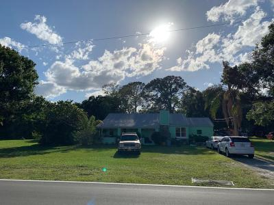 Fort Pierce Single Family Home For Sale: 2905 Rogers Road