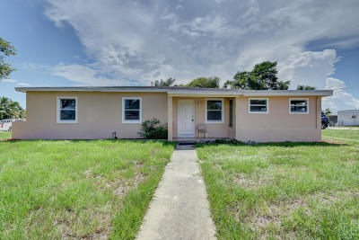 Lake Worth Single Family Home For Sale: 1601 12th Avenue S
