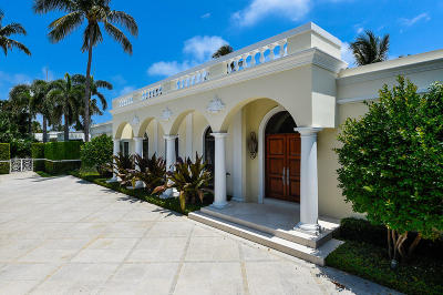 Palm Beach FL Single Family Home For Sale: $7,850,000