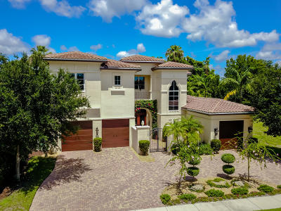 Delray Beach Single Family Home For Sale: 16083 Tuscany Estates Drive