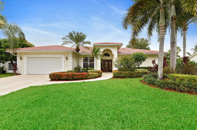 Boynton Beach Single Family Home For Sale: 9656 Pandanus Way