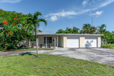 Boca Raton Single Family Home For Sale: 104 NE 2nd Circle