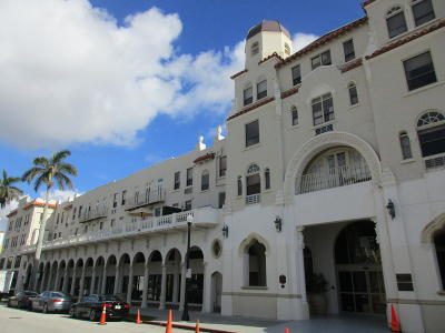 Palm Beach Rental For Rent: 235 Sunrise Avenue #2012