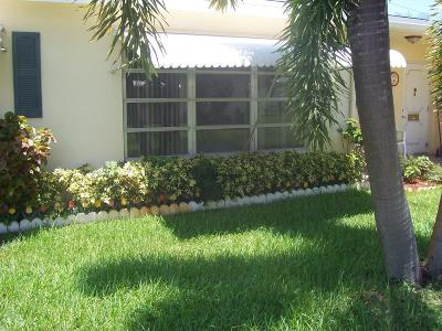 Boynton Beach Single Family Home For Sale: 3330 Post Road #C