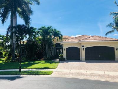 Boca Raton Single Family Home Contingent: 19594 Saturnia Lakes Drive E