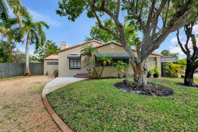 West Palm Beach Single Family Home For Sale: 3210 Poinsettia Avenue