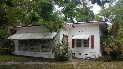 Fort Pierce Single Family Home For Sale: 2916 Sunrise Boulevard