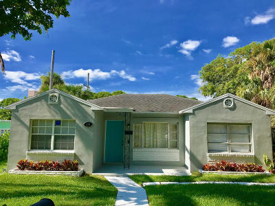 West Palm Beach Single Family Home For Sale: 416 56th Street