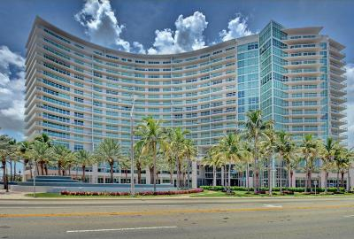 Pompano Beach Condo For Sale: 1 Ocean Boulevard #207