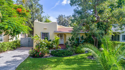 West Palm Beach Single Family Home For Sale: 733 New Jersey Street
