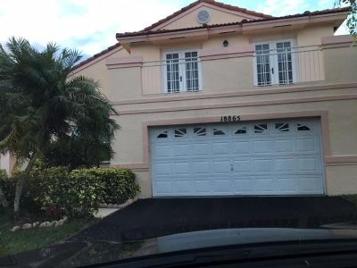 Pembroke Pines Single Family Home For Sale: 18865 NW 1st Street
