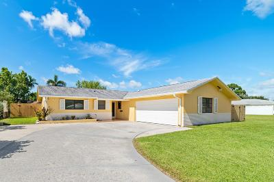 Palm Beach Gardens Single Family Home Contingent: 4280 Honeysuckle Avenue