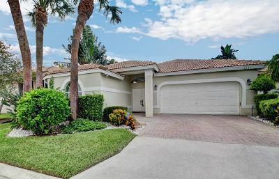 Delray Beach Single Family Home For Sale: 16654 Redondo Way