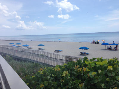 Ocean Ridge Rental For Rent: 6520 Ocean Boulevard #3