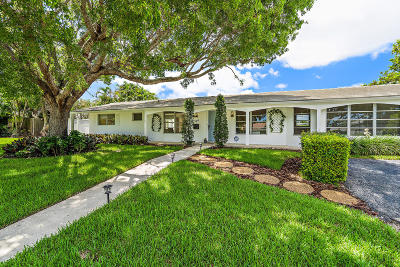 North Palm Beach Single Family Home Contingent: 524 Privateer Road