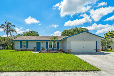 Royal Palm Beach Single Family Home For Sale: 190 Martin Circle