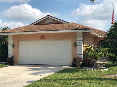 Jupiter Single Family Home For Sale: 125 Sims Creek Lane