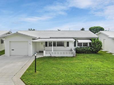 Boynton Beach, Gulf Stream Single Family Home For Sale: 812 SW 18th Court