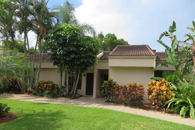 Boca Raton Single Family Home For Sale: 7495 La Paz Boulevard #106