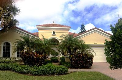 Wellington Single Family Home Contingent: 8889 Via Grande E