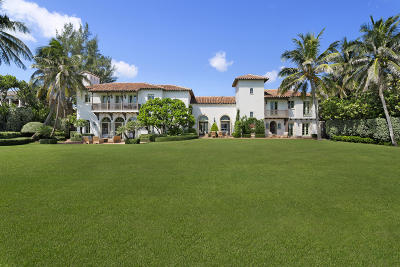 Palm Beach FL Single Family Home For Sale: $26,950,000