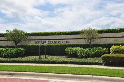 Boca Raton Single Family Home For Sale: 17595 Bocaire Place