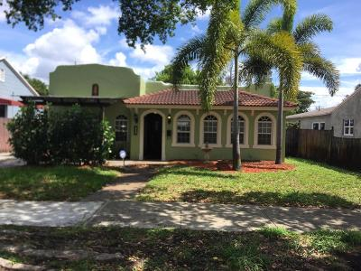 West Palm Beach Single Family Home For Sale: 1025 Upland Road