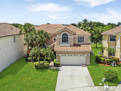 Lake Worth Single Family Home For Sale: 7403 Langston Court