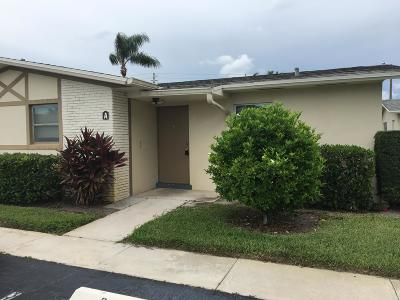 West Palm Beach Single Family Home For Sale: 2837 Ashley Drive W #A