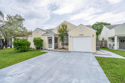 Boca Raton Single Family Home For Sale: 23196 Bentley Place