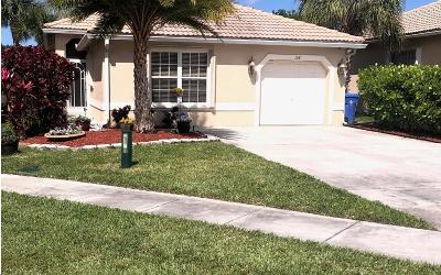 Royal Palm Beach Single Family Home For Sale: 108 Prestige Drive