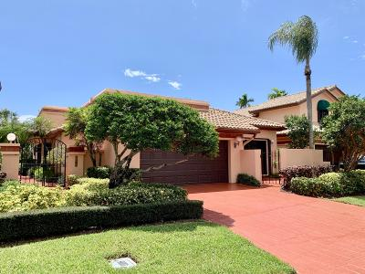 Boca Raton Single Family Home For Sale: 6436 Via Rosa