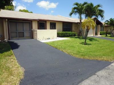 Delray Beach Single Family Home For Sale: 5395 Viburnum Street