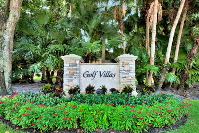 Palm Beach Gardens Condo For Sale: 539 Brackenwood Place