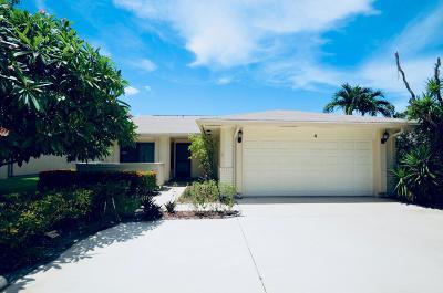 Boynton Beach Single Family Home For Sale: 4 Hammond Place