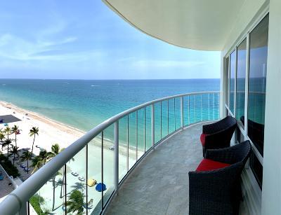 Fort Lauderdale Condo For Sale: 3410 Galt Ocean Drive #1001n