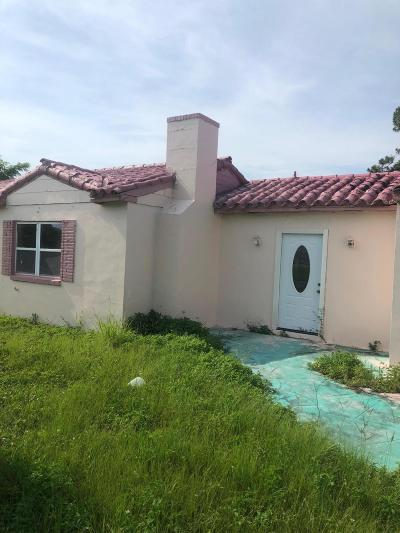Fort Pierce Single Family Home For Sale: 3701 O
